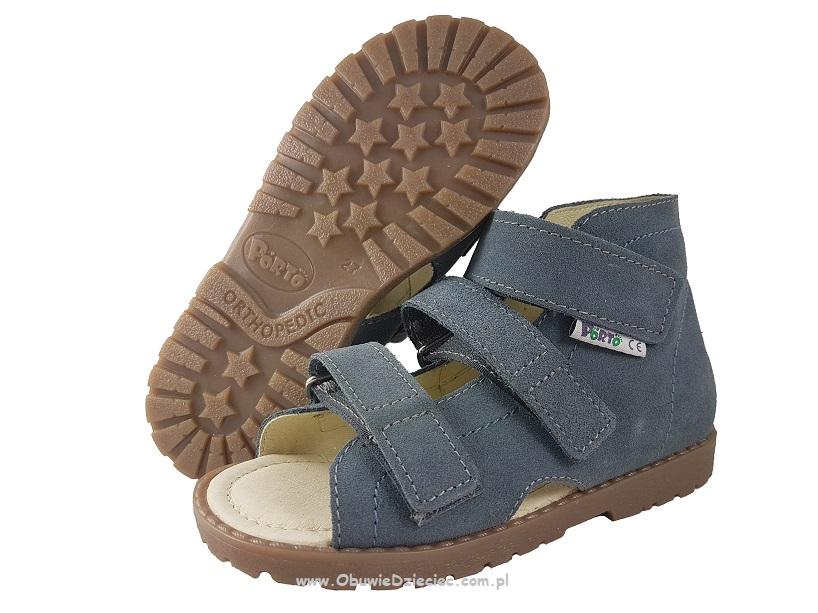 Markowe Obuwie Dzieciece 1310 66 Jeans Mrugala Porto Wkladki Profilowane Buty Sandalki Kapcie Przedszkolne Profilaktyczne Ortopedyczne 31 35 Mrugala