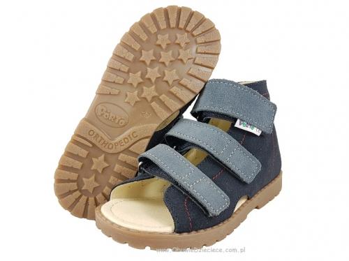 7169cdbf 8-1210 70 GRANAT MRUGAŁA PORTO buty sandałki kapcie profilaktyczne  przedszk. 26-30
