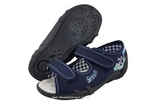ee2e563b9f2af 20-33-378P GRANAT REKIN : WKŁADKI PROFILOWANE : sandałki - sandały  profilaktyczne -