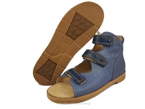 Markowe Obuwie Dzieciece | B 26gr BAJBUT gran. buty sandałki