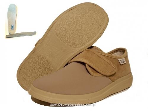 62 036D005 Dr Orto BEŻOWE elastyczne obuwie profilaktyczno ortopedyczne damskie męskie BEFADO Dr Orto System 36 41