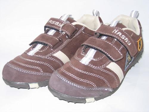 e080270776818 Markowe Obuwie Dzieciece | 24-U273A brązowo/beżowe obuwie sportowe ...